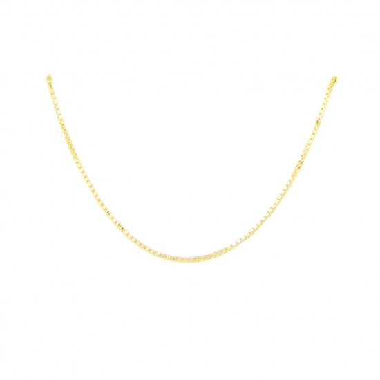 Citigems Yellow Gold Box Chain