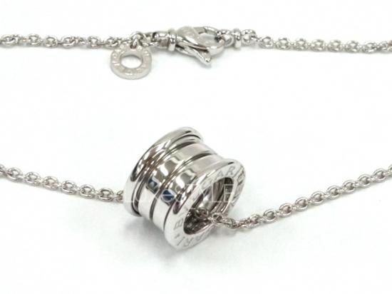 Pre-Loved Bvlgari B.Zero1 18K White Gold Necklace