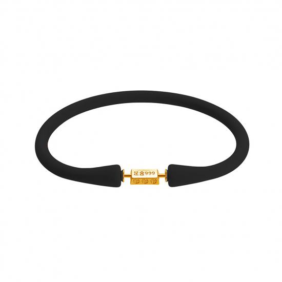 Citigems 999 Pure Gold Bar Bracelet