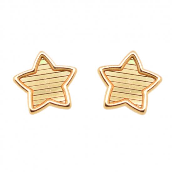 Citigems 916 Lucky Star Earrings