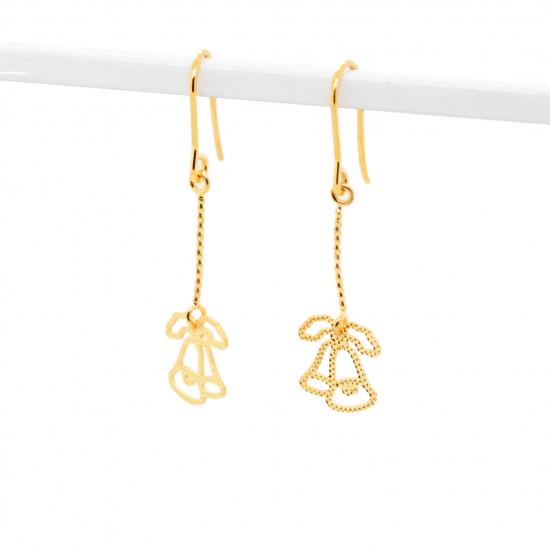 Citigems 916 Christmas Bells Dangling Earrings