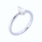 Citigems 18K Fancy Shape Diamond Ring