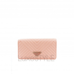 Prada Pink Quilted Leather Sling Bag