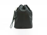 Prada Logo Black Nylon Sailcloth Bucket Pouch
