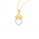 Citigems 916 Royal Heart Pendant