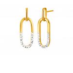 Citigems 916 Gold Earrings
