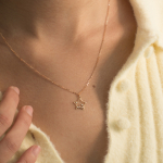 Citigems 18K Gold Elistar Star Diamond Necklace