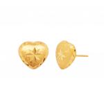 Citigems 916 Heart Earrings