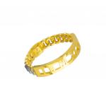 Citigems 916 Minimalist Roman Stackable Ring