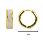 Citigems 916 Hoop Earrings