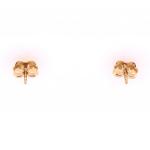 Citigems 916 Gold Panda Earrings