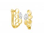 Citigems 916 Gold Golden Wheat Earrings