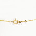 Pre-Loved Tiffany & Co. Paloma Picasso Shooting Star 18K Yellow Gold Necklace