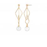 Citigems 18K Rose Gold Oreiade Nephrite Earrings
