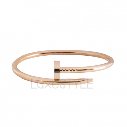 Pre-Loved Cartier Just Un Clou 18K Rose Gold Bangle