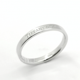 Pre-Loved Tiffany & Co. Platinum Band Ring