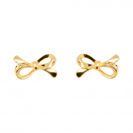 Citigems 916 Golden Ribbon Earrings