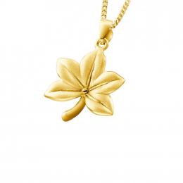 Citigems 999 Pure Gold Acer Maple Leaf Pendant