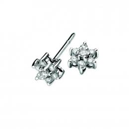 Citigems Classic Cluster Diamond Earrings