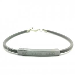 Pre-Loved Tiffany & Co. 1837 Black Titanium Bracelet
