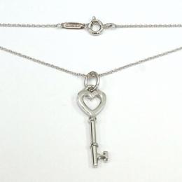 Pre-Loved Tiffany & Co. Keys Heart Silver Necklace