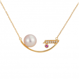 Citigems 18K Gold Perle Necklace