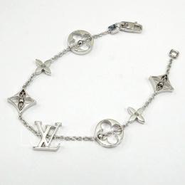 Pre-Loved Louis Vuitton Monogram 18K White Gold Bracelet