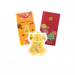 Citigems 999 Pure Gold Citi-Mouse Prosperity Golden Treasure