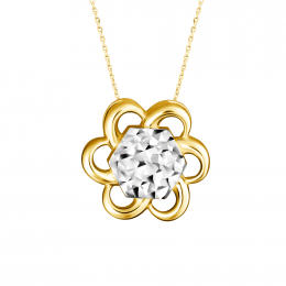 Citigems 916 Cheerful Daisy Pendant