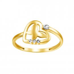 Citigems 916 Lovely Butterfly Ring