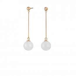 Citigems 18K Rose Gold Khione Nephrite Earrings