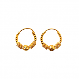 Citigems 916 Arcelia Hoop Earrings