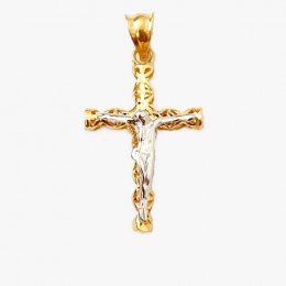 Citigems 916 Embroidered Cross Pendant