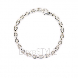 Pre-Loved Cartier Cable Link 18K White Gold Chain Bracelet