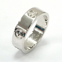 Pre-Loved Cartier Love 18K White Gold Ring