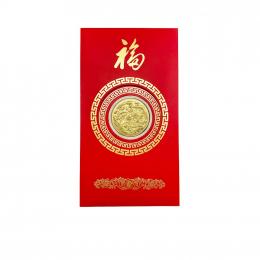Citigems 999 Gold 0.2g Dragon and Phoenix Golden Treasure