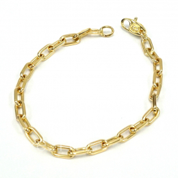 Pre-Loved Cartier Cable Link 18K Yellow Gold Chain Bracelet