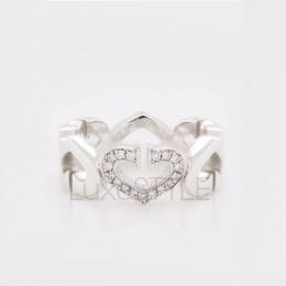Pre-Loved Cartier Hearts & Symbols 18k White Gold Diamond Ring