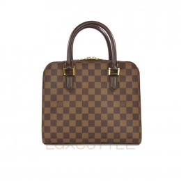 Preloved Louis Vuitton Triana Handbag Standard
