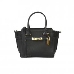 Coach Black Swagger Handbag 87299