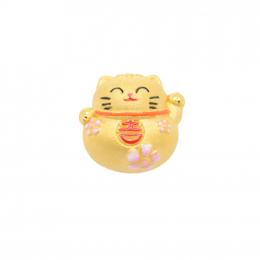 Citigems 999 Sakura Fortune Cat Charm