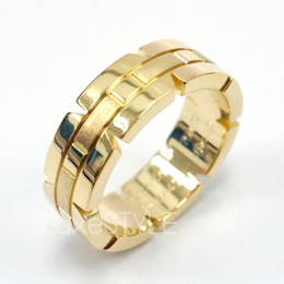 Pre-Loved Cartier Tank Francaise 18K Yellow Gold Band Ring