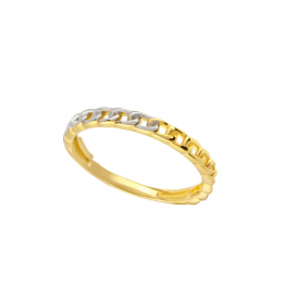 Citigems 916 Gold Stackable Ring