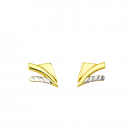 Citigems 916 Gold Sparkles Earrings