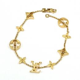 Pre-Loved Louis Vuitton Monogram 18K Yellow Gold Bracelet