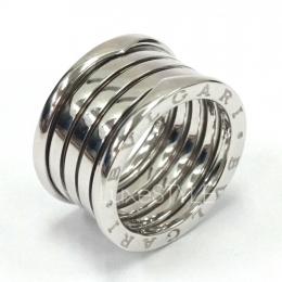 Bvlgari B.Zero1 4 Band 18K White Gold Ring (Preloved)