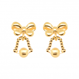 Citigems 916 Christmas Jingle Bells Earrings